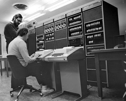 Dennis Ritchie & Ken Thompson 1969