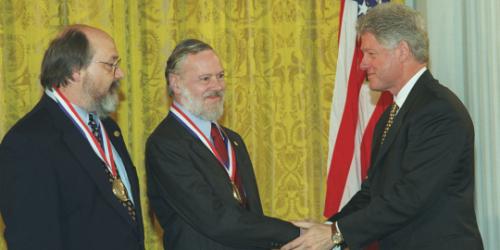 Dennis Ritchie & Ken Thompson 1999