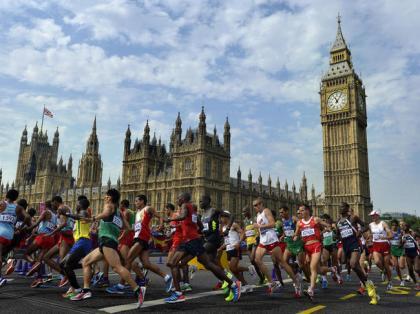 Marathon JO Londres 2012